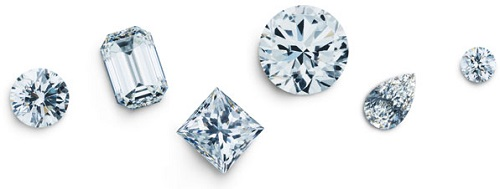 Diamonds - April birthstone